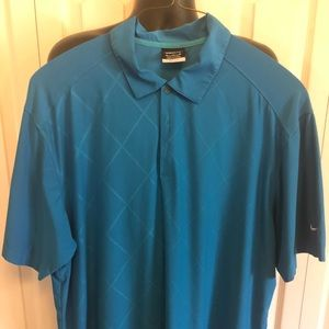 Nike Men's Dry Fit polo shirt.